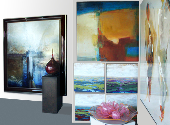 Picture House Gallery Charlotte NC - An Art Gallery Providing Fine American & European Abstract, Expressionist, Impressionistic, Realistic Paintings, Sculpture & Glass