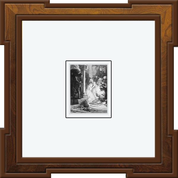 Pablo Picasso, Rembrandt Harmenszoon van Rijn, Pierre Auguste Renoir, and Salvador Dali